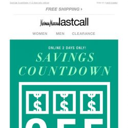 [Last Call] How much will you save? Watch as the deals add up!