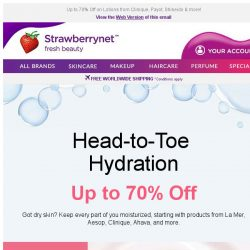 [StrawberryNet] Get Head-to-Toe Hydration with these Must-Buy Lotions
