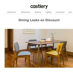 [Castlery] New Dining Deals up to 20% Off!