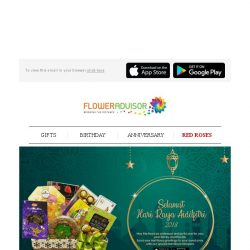 [Floweradvisor] Still No Idea What to Give This Ramadan? We Got Your Back!