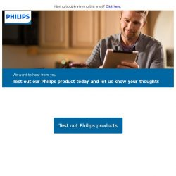[PHILIPS] Exclusive invite to test and review our products