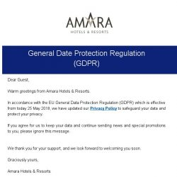 [Hotels.com] Amara Hotels & Resorts Privacy Policy Updates