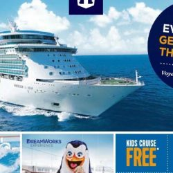 Royal Caribbean: Enjoy Kids Cruise FREE, $11 Upgrade to Balcony, Seniors' Special, 4-To-Go Special Offers at Tampines Roadshow!