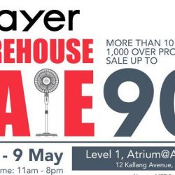Mayer: Warehouse Sale with Up to 90% OFF & 1-for-1 Deal on Home Appliances