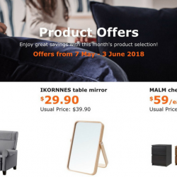 IKEA: Special Offers for IKEA FAMILY Members with Up to $100 OFF!