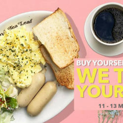 The Coffee Bean & Tea Leaf: FREE Brek 'O' Day Breakfast Set for Your Mum!