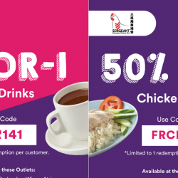 Food Republic: Enjoy 1-for-1 Hot Drinks & 50% OFF Chicken Rice with FavePay!