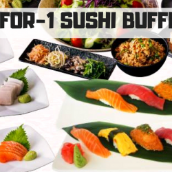 Shabuya and Shochu Bar: Enjoy 1-for-1 Sushi Buffet (UP $18.90++)!