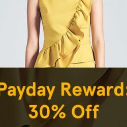 Zalora: Payday Reward - Enjoy Additional 30% OFF Selected Items with Coupon Code!