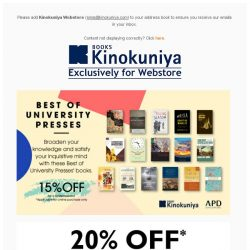 [Books Kinokuniya] 🎉 Children Books promotions galore this June holiday on Kinokuniya Webstore Singapore!