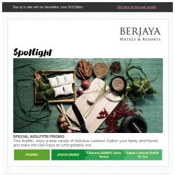 [Berjaya Hotels & Resorts EDm] It's the month of celebrations!