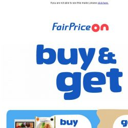 [Fairprice] Check out this month's exciting offers