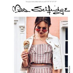 [Miss Selfridge] Pose for the camera now, flick flick 📷