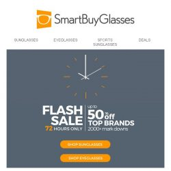 [SmartBuyGlasses] Huge markdowns (up to 50%!) on thousands of glasses from top brands - take a look!