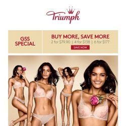 [Triumph] Have You Shopped Our GSS (Great SEXY Sale)?