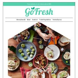 [GoFresh] GoFresh: Tasty Treats you can cook for your family and they're all on Flash Sales all week long!
