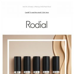 [RODIAL] It's Here: The New Diamond Concealers