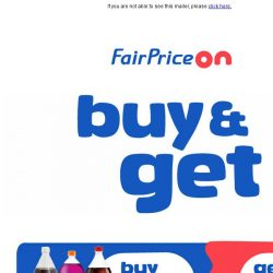 [Fairprice] Just for you: June's exclusive free gift deals