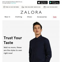 [Zalora] The Hit List: Your Style Cheat Sheet is here!