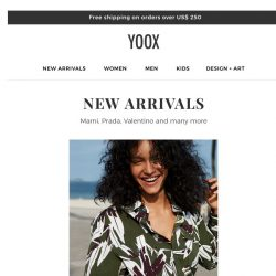 [Yoox] New arrivals are here!