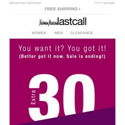 Last Call  EVERYTHING on sale  d54f5048e