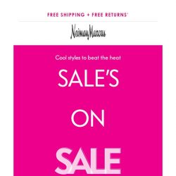 [Neiman Marcus] Up to 55% off! Kick off summer in style