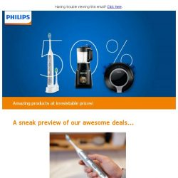 [PHILIPS] Members' Exclusive - 50% off your favourite Philips products