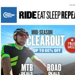 [Chain Reaction Cycles] Mid-Season Clearout - FINAL WEEK!