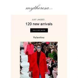 [mytheresa] Just in: fresh pieces from Victoria Beckham, Valentino and Off-White