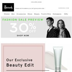 [Harrods] Only At Harrods | Beauty Exclusives