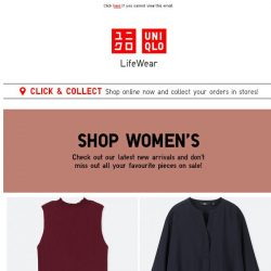 [UNIQLO Singapore] Your favourite pieces on sale!