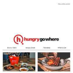 [HungryGoWhere] Exclusive Dining Treats for Singtel Customers: 1-for-1 Mains/Pizzas/Waffles, 30% Off Total Bill, and More!