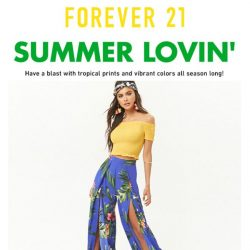 [FOREVER 21] YOU'RE IN.