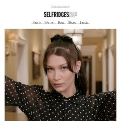 [Selfridges & Co] Truth or dare with Bella Hadid