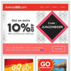 [AirAsiaGo] 💌 You deserve this coupon discount! 💌
