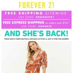 [FOREVER 21] MOST-WANTED: One-Pieces