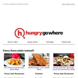 [HungryGoWhere] You're just one step away from mouthwatering delights,