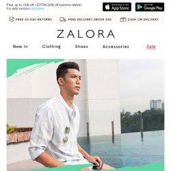 [Zalora] BREAKING NEWS: Buy 5 for S$30!