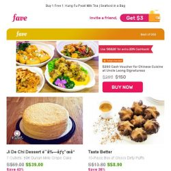 [Fave] $250 Cash Voucher @ Uncle Leong Signatures & Extra 20% Cashback!