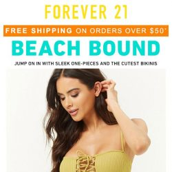[FOREVER 21] All About NEW.