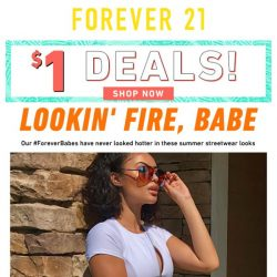 [FOREVER 21] JUST DROPPED: Exclusive Collection
