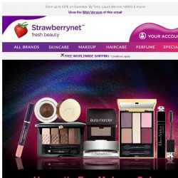 [StrawberryNet] Eye Makeup Collections are on FURTHER Sale