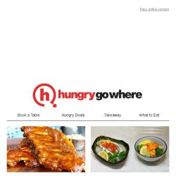 [HungryGoWhere] Savour the Tempting 1-for-1 and HungryGoWhere Exclusive Deals on Grilled Mains, Uni Chirashi, Buffet Dinner, and more!