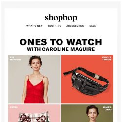 [Shopbop] On our radar: tricked-out belt bags, island-y prints, and more