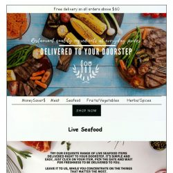 [GoFresh] GoFresh: Live Seafood, right at your doorstep.