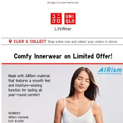 [UNIQLO Singapore] Cool deals that will make you go YAY this Friday