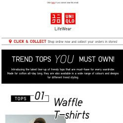 [UNIQLO Singapore] Trendy looks everyone can pull off