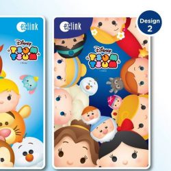 EZ-Link: NEW Disney Princess Tsum Tsum EZ-Link Cards