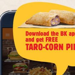 Burger King: Download the Burger King App & Enjoy a FREE Taro-Corn Pie with Any Purchase