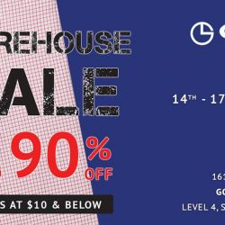 Goldlion: Warehouse Sale with Up to 90% OFF Apparel & Leather Accessories